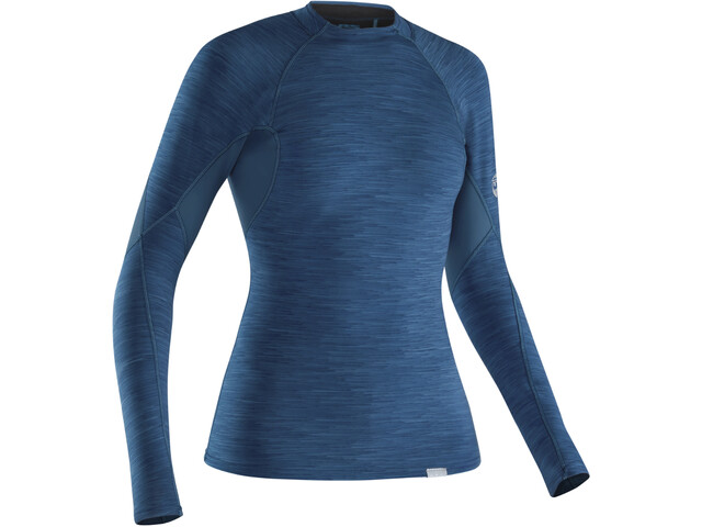 NRS HydroSkin 0.5 - Camiseta de manga larga Mujer - azul